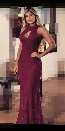 Vestido Longo Supremacia Luxo Cod. 034 Para Madrinhas Festas