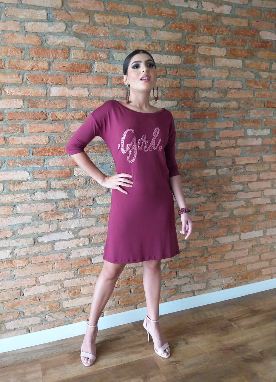 Vestido Tubinho Girl ref. 133