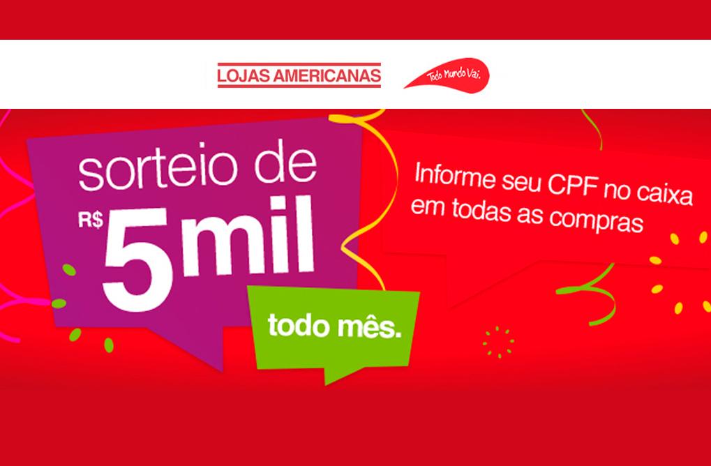 411e4394a7 Lojas Americanas - Promoção Sempre Americanas