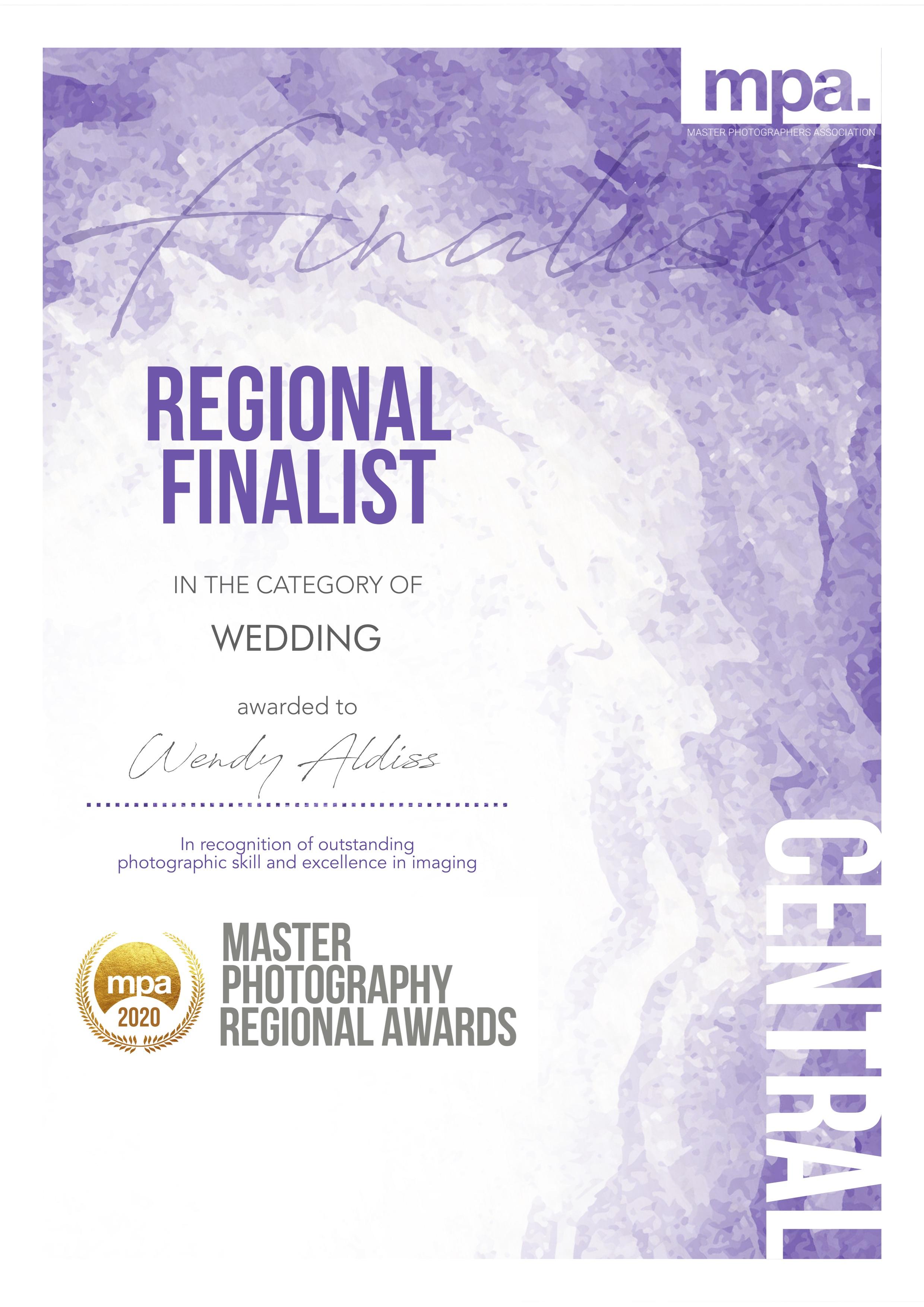 Wendy Aldiss Finalist