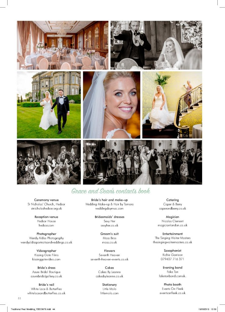 Hedsor House wedding feature