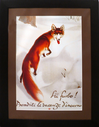 main photo of Fox in Snowy Forest