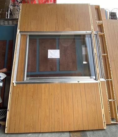 main photo of Window Wall on Reclaimed Wood (Rented thru 7/31)