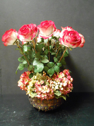 main photo of Two tone rose arrangement
