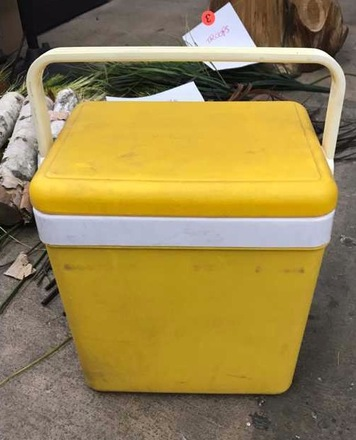 main photo of Vintage Yellow Cooler