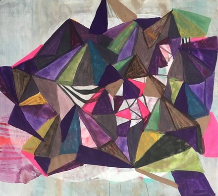 main photo of KUNANN-Triangle Abstract DF