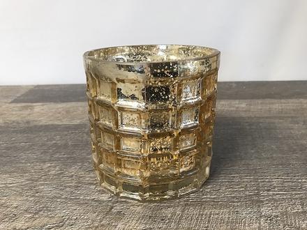 main photo of Gold Mercury Checkered Cylinder
