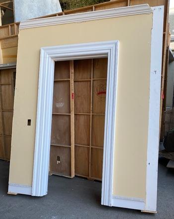 main photo of Double Face Door Wall