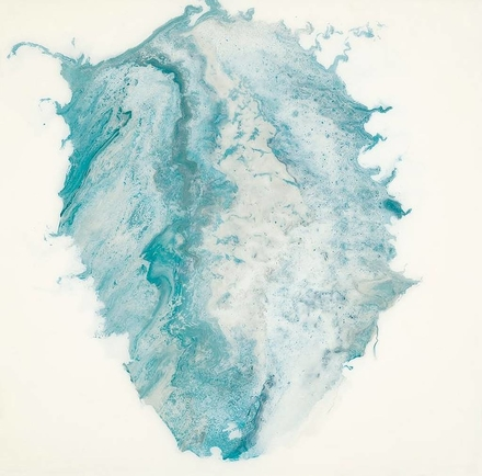 main photo of Abstract Painting in Teal
