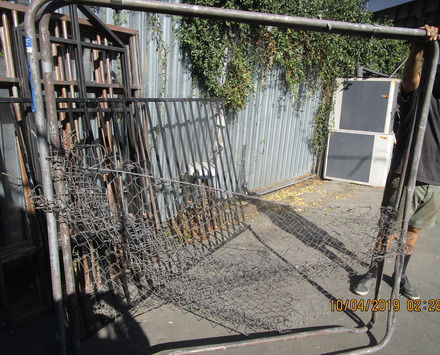 main photo of Rustic Chain LInk Fence w/Frame
