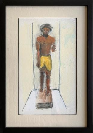 "main photo of COVROB-Egyptian Statue 14.5x10.5"""