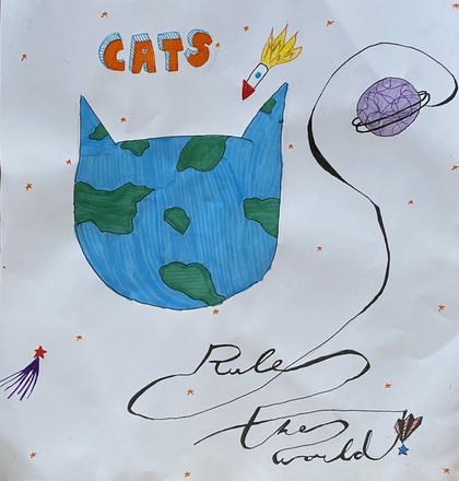 main photo of KIDART-Cats Rule The World DF