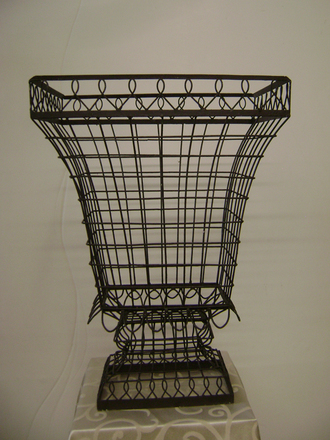 main photo of French wire urn large