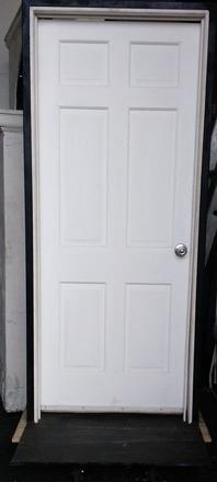 main photo of Freestanding Door Frame with Door
