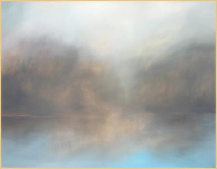 """main photo of GILREB-Late Winter Reflection 28x32"""""""