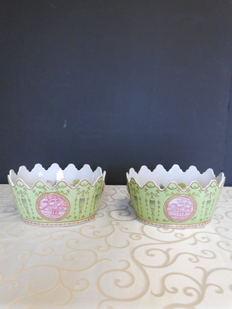 main photo of Mint and pink bowl
