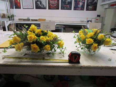 main photo of Fresh Floral Tea Rose Centerpieces