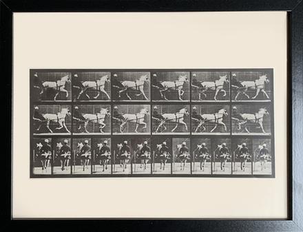 main photo of MISART-Antique Horse Movement Gravure