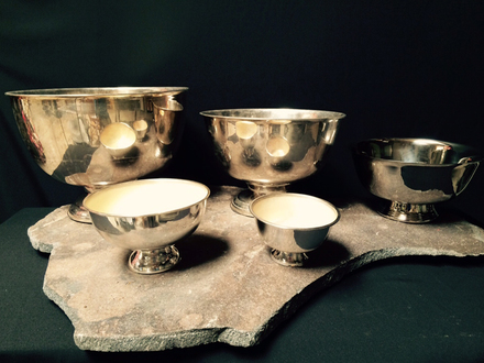 main photo of Silver revere bowls