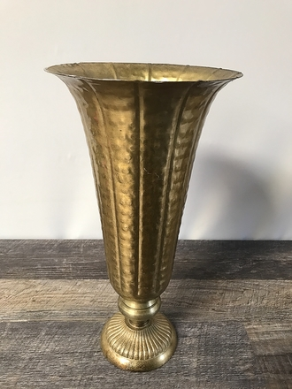 main photo of Hammered Tapered Vase A