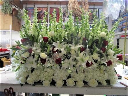 main photo of Fresh Floral Stage Arrangement