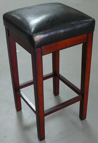 Prime Stool Chocolate Wood With Footrail Propcart Pdpeps Interior Chair Design Pdpepsorg