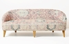 Sofa, print upholstery