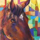 Horse Painting Multi color 2