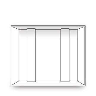 Basic Wood box w/ no foam