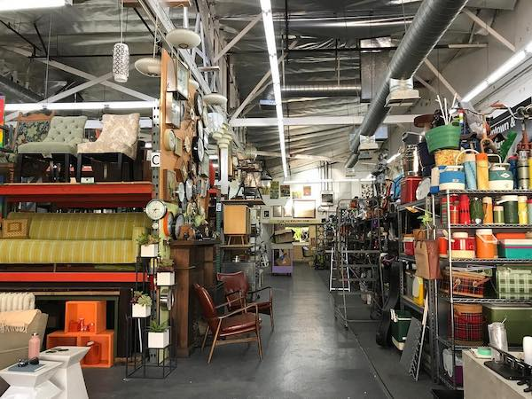 Inside our prop house