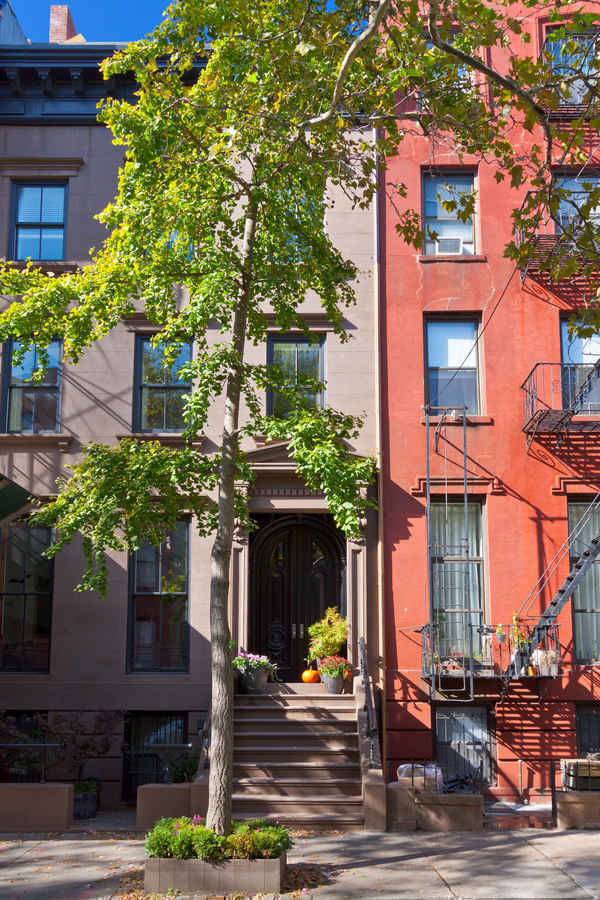 Townhouses in Cobble Hill Brooklyn