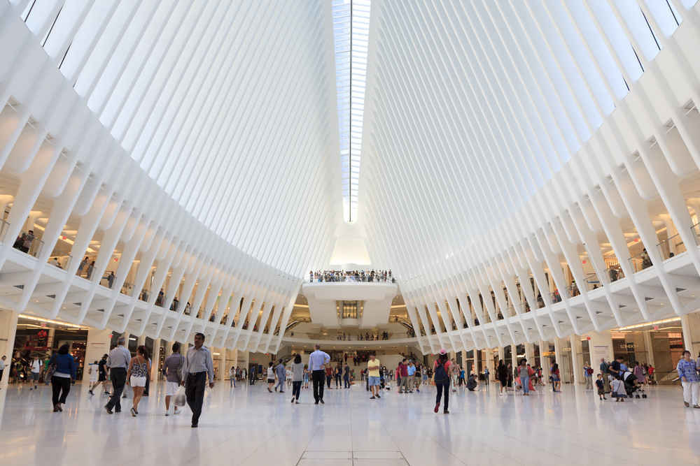 Oculus Mall, Financial District, NYC