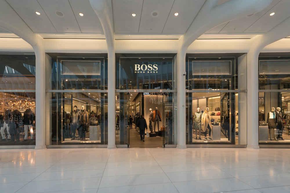 Hugo Boss store, Oculus Mall, Manhattan