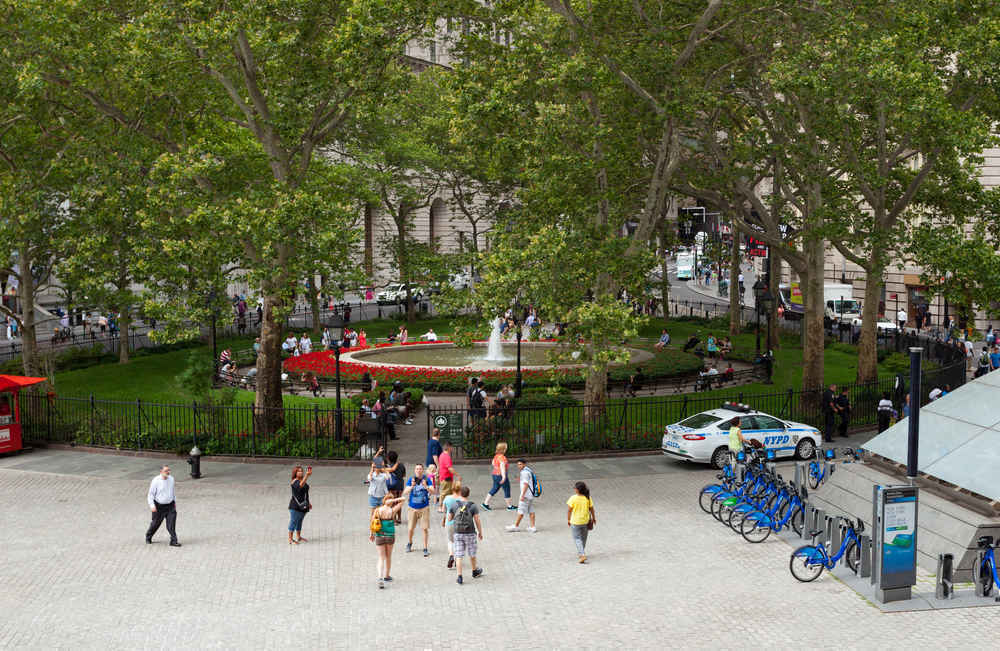 Bowling Green Park, Financial District, New York City
