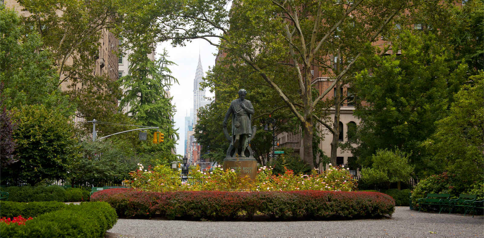 Gramercy Park in Manhattan, New York