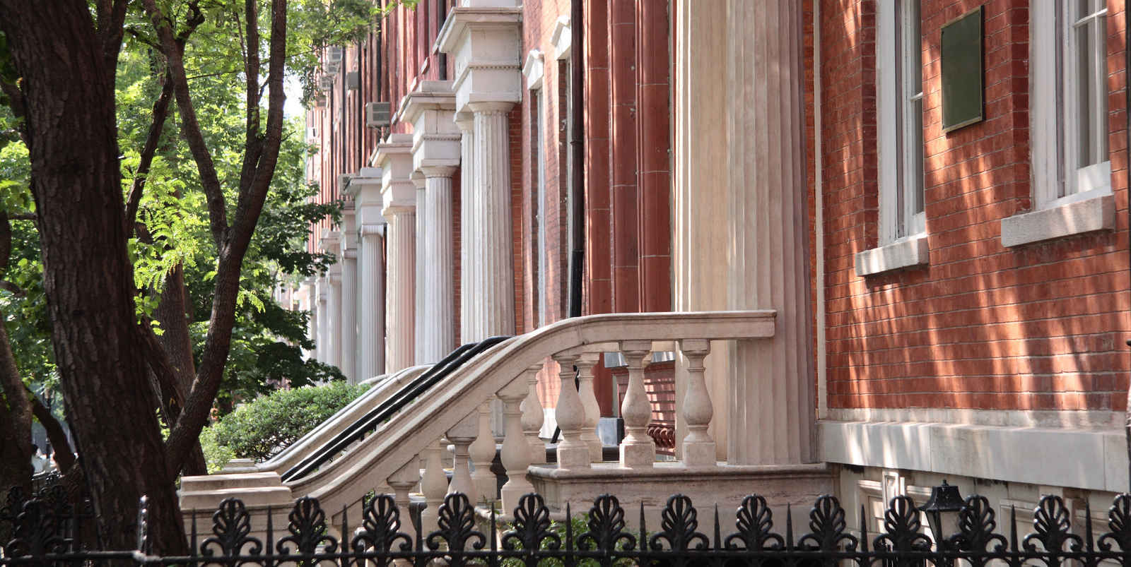 Greenwich Village residential townhouses, New York City