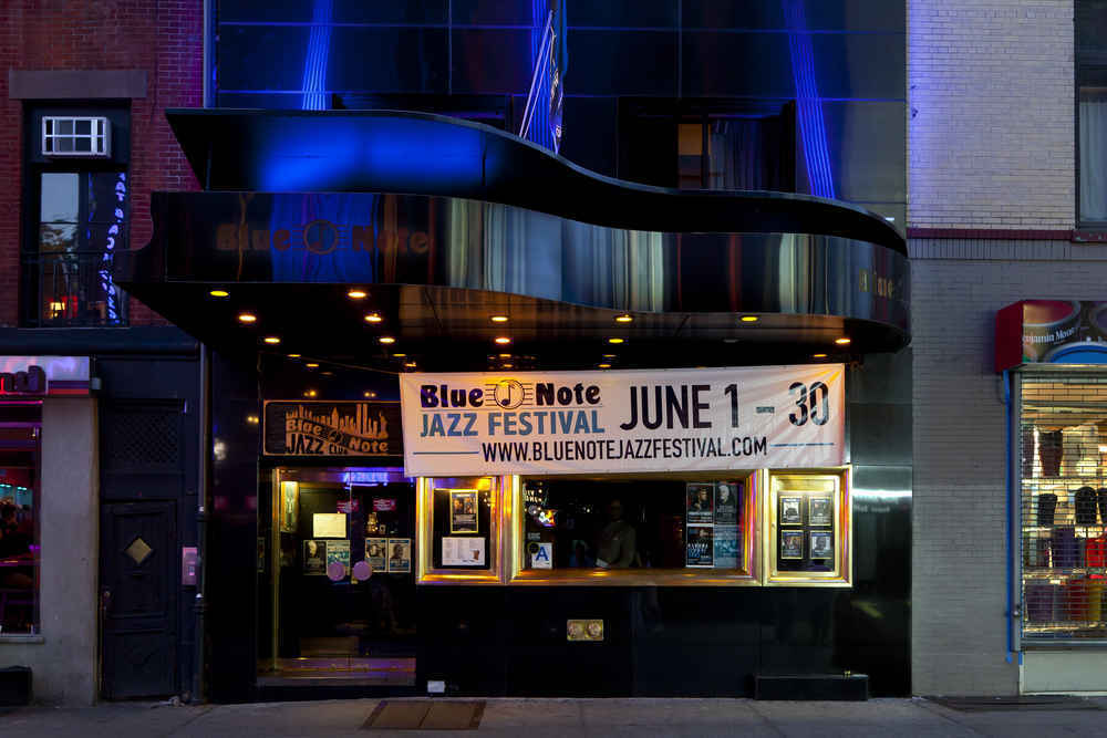 Blue Note jazz club in Greenwich Village, Manhattan
