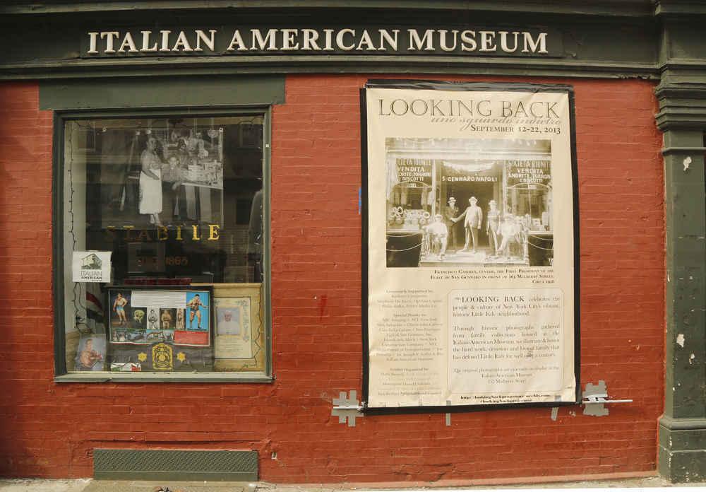 Italian American Museum in Little Italy neighborhood, New York