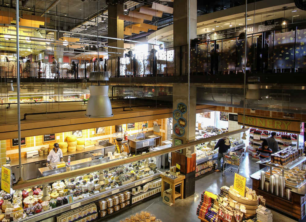 Whole Foods Market in Bowery Manhattan, New York