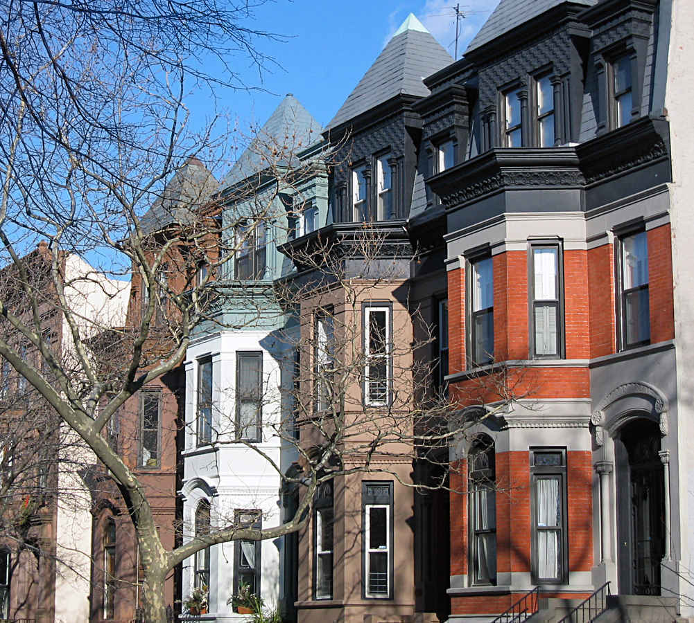 Townhouses in Park Slope Brooklyn