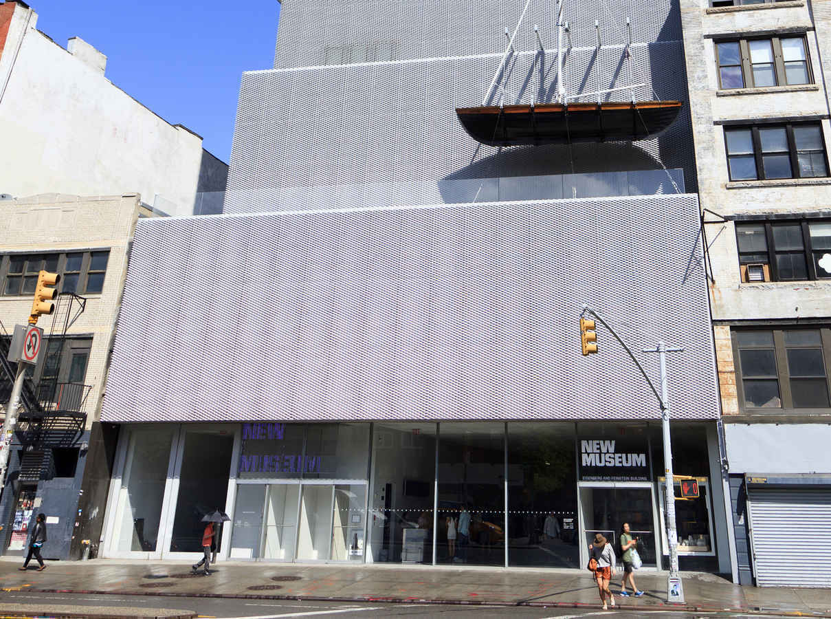 New Museum of Contemporary Art in Bowery New York