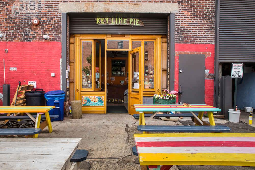 Key Lime Pie shop in Red Hook Brooklyn