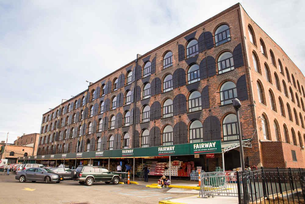 Fairway market in Red Hook Brooklyn