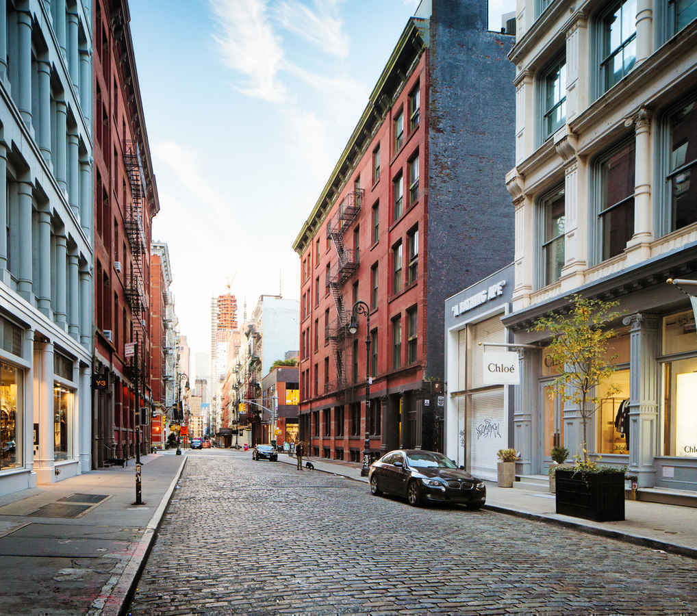 Greene Street in Soho, New York