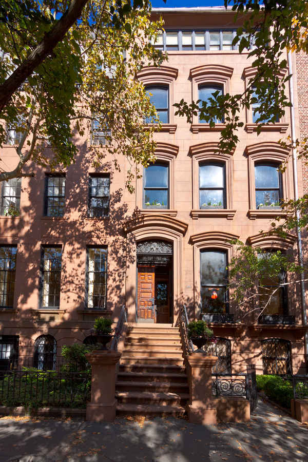 Residential townhouse in Brooklyn Heights