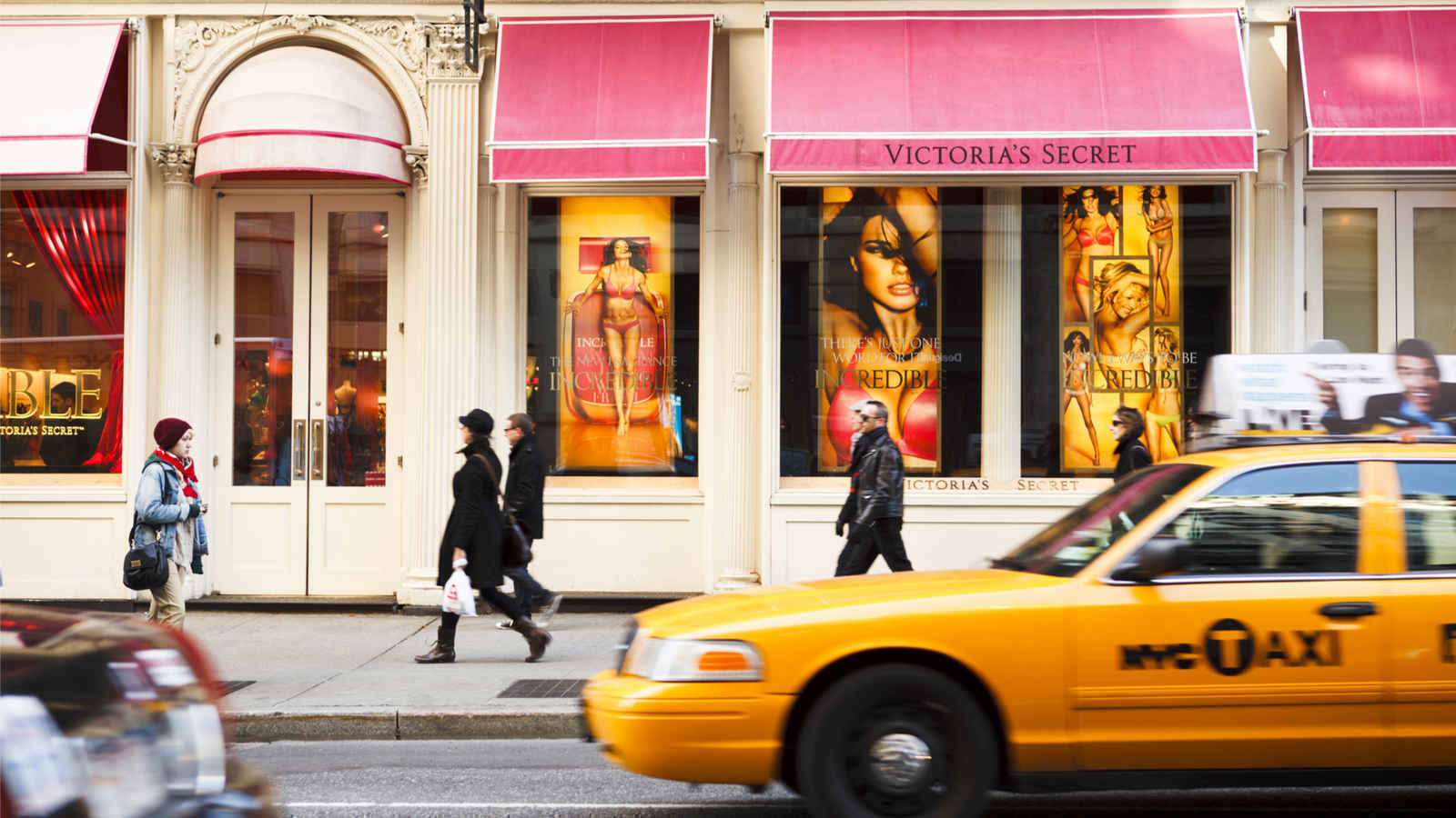 Victoria's Secret store in Soho, New York