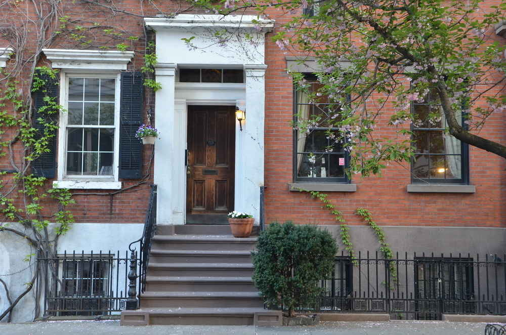 A historic brownstone townhouse  in Soho, Manhattan