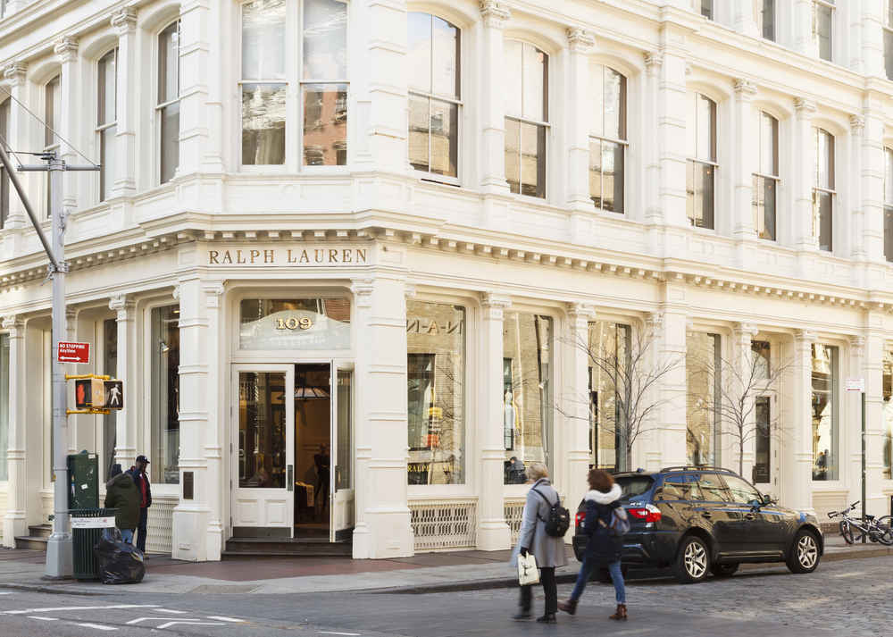 The Ralph Lauren store in  Soho, New York