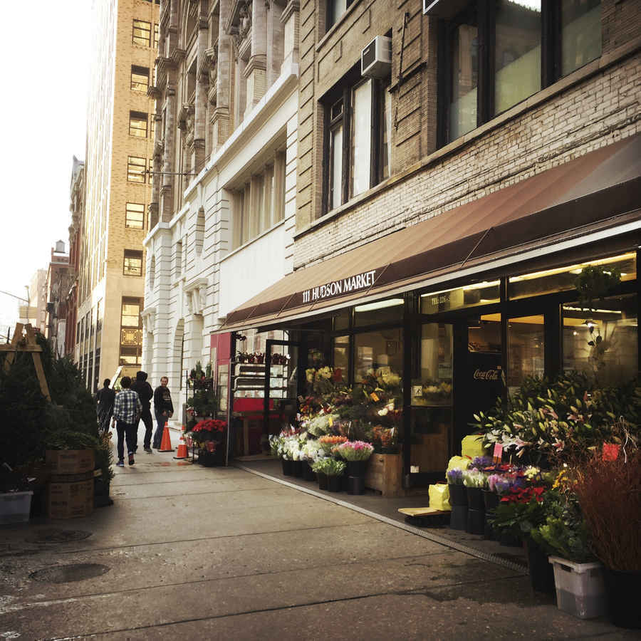 Hudson Market in Tribeca New York