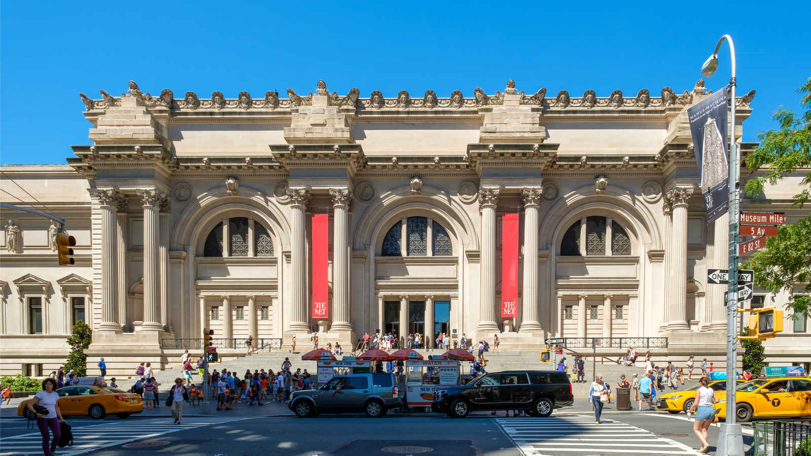 Metropolitan Museum of Art on the Upper East Side of Manhattan, New York